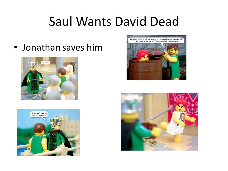 Saul Wants David Dead Jonathan saves him