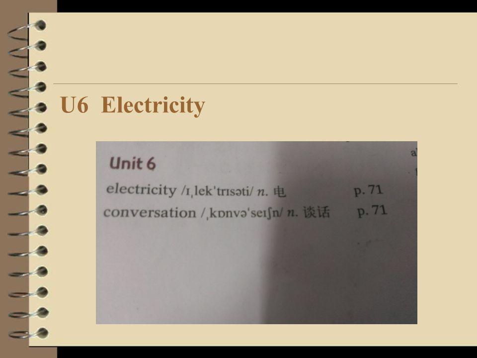 U6 Electricity