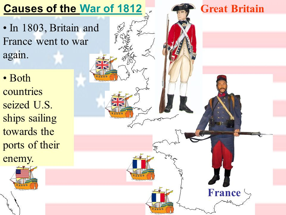 France Great BritainAmerican merchant You boys can keep on killing each other.