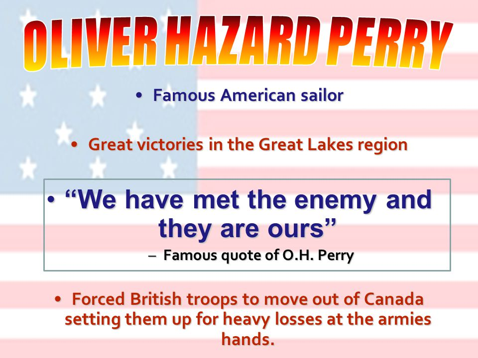 Control of the Great Lakes was vital