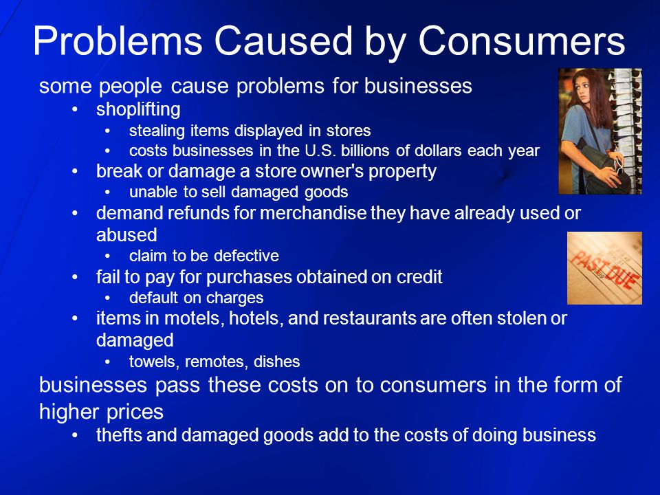 some people cause problems for businesses shoplifting stealing items displayed in stores costs businesses in the U.S.