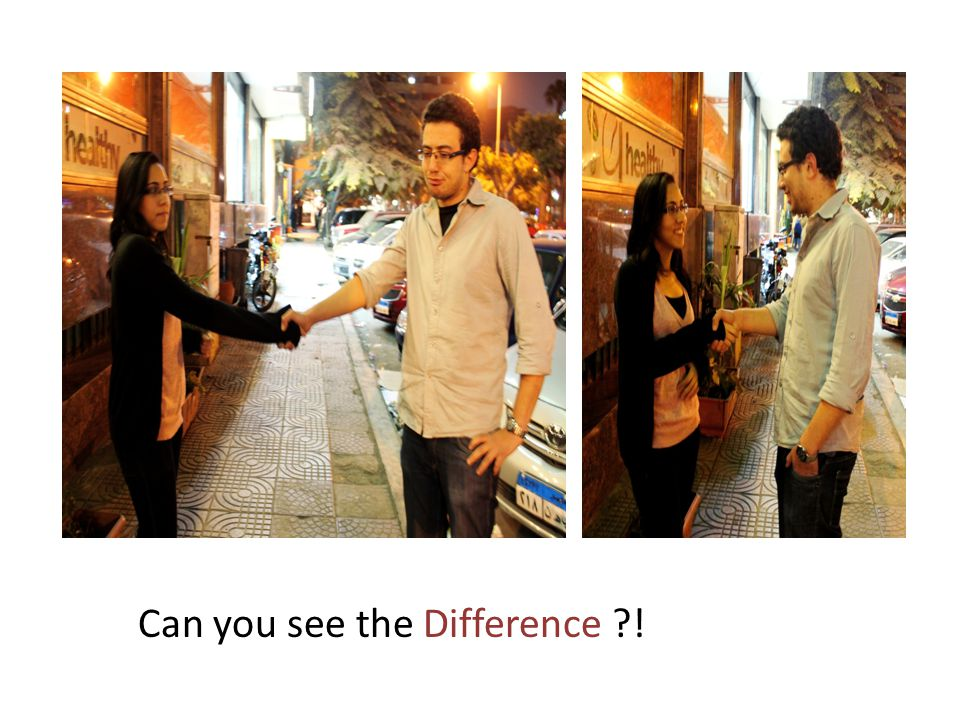Can you see the Difference !
