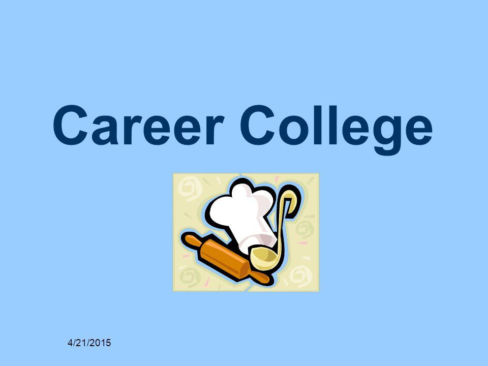 Career College 4/21/2015