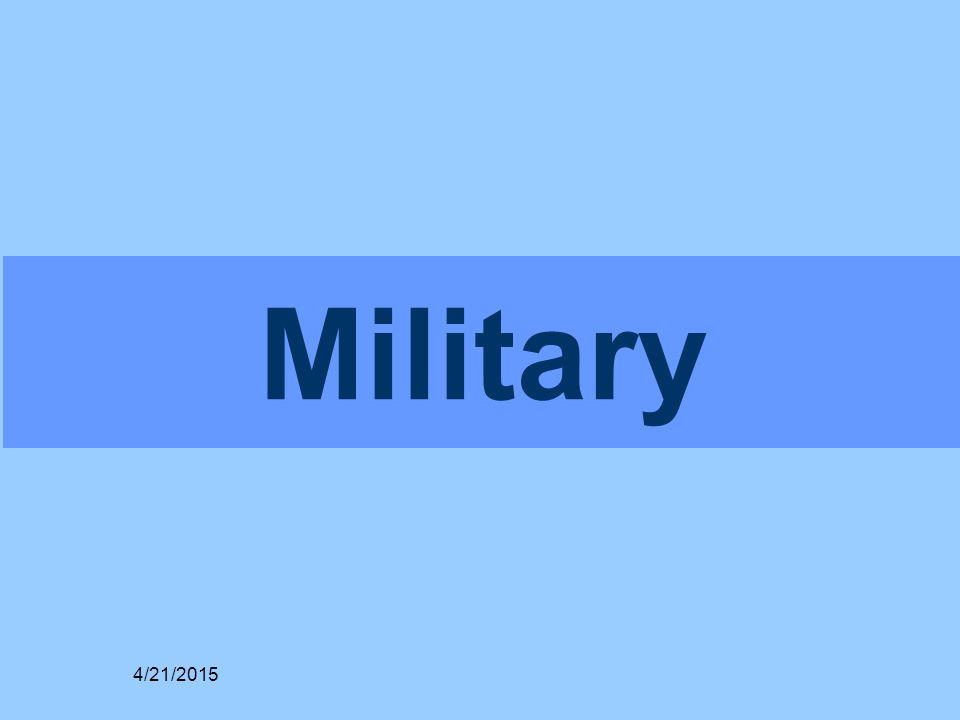 Military 4/21/2015