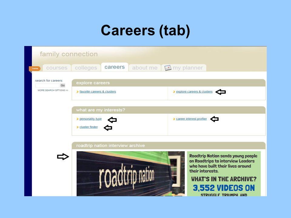 Careers (tab)