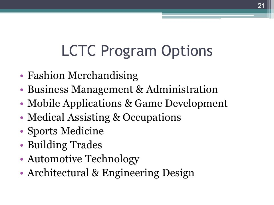 Northville High School Sophomore Registration for 2014-2015 school year Livonia Career Technical Center (LCTC) If you are interested in one of the Technical fields below, read the course catalog & see your counselor for more information.