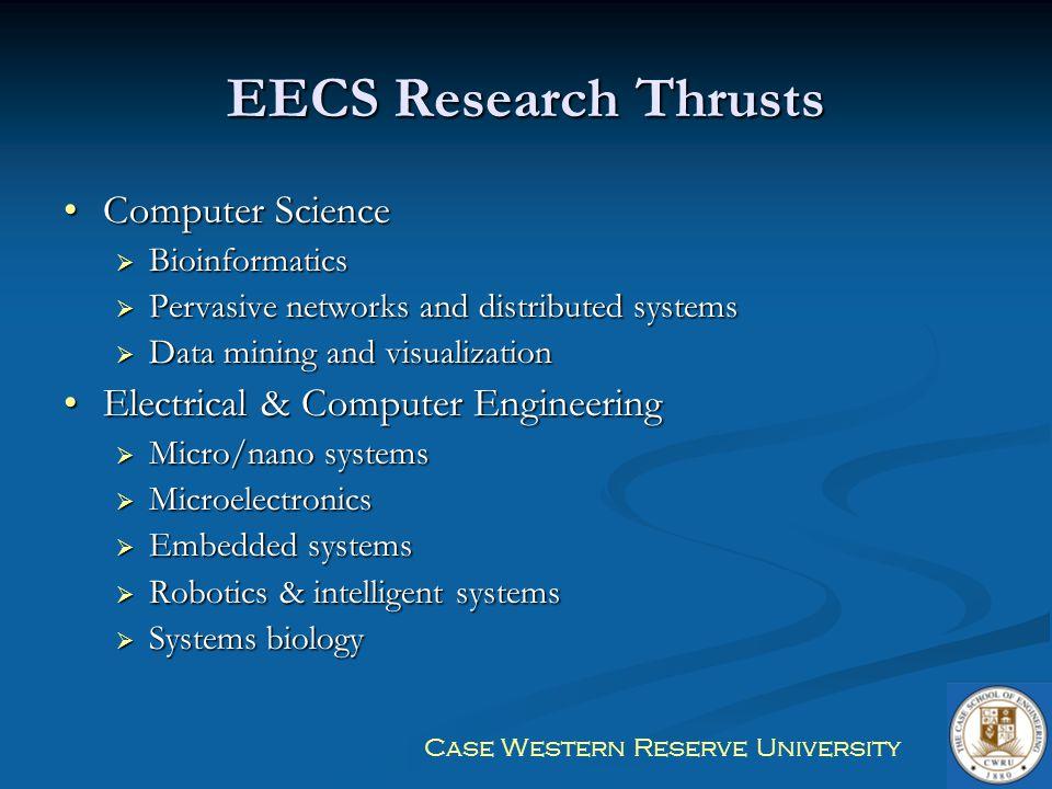 Case Western Reserve University Detailed Degree Program Information