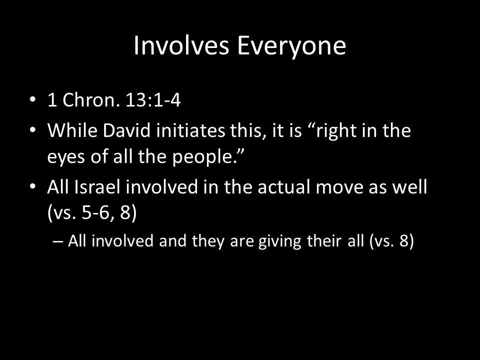 Involves Everyone 1 Chron.