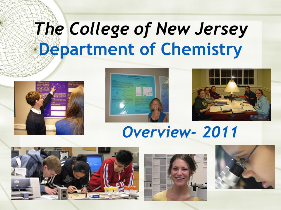 TCNJ students who graduated with a BS in Chemistry/Forensic Chemistry Specialization are now at, for example: Graduate Schools PhD Programs (e.g.