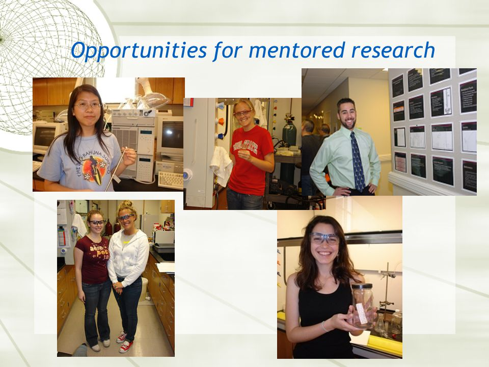 Opportunities for mentored research
