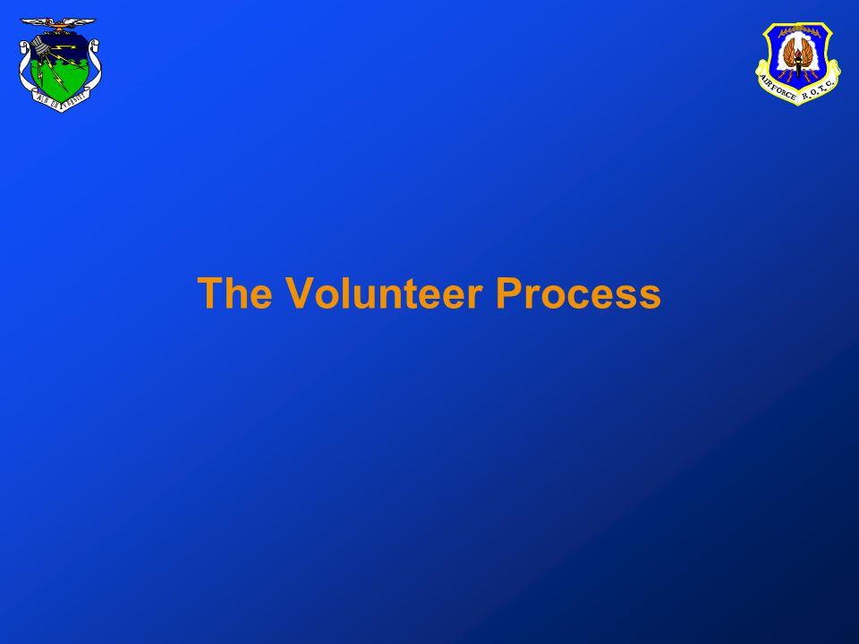 The Volunteer Process