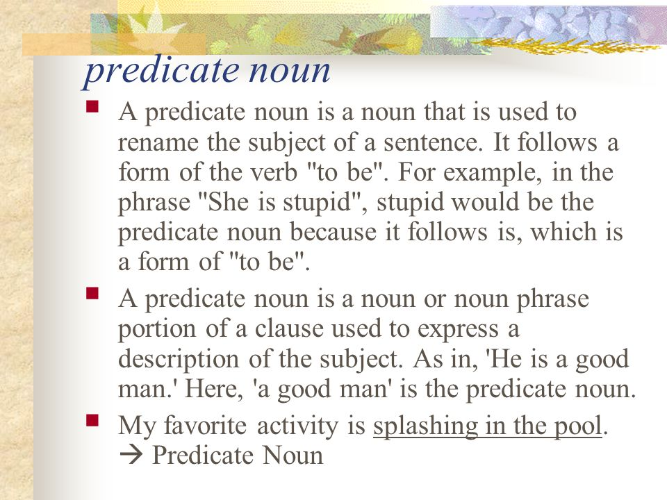 Object of a Preposition A preposition is a word that shows a relation between a noun or pronoun to another word in the sentence.