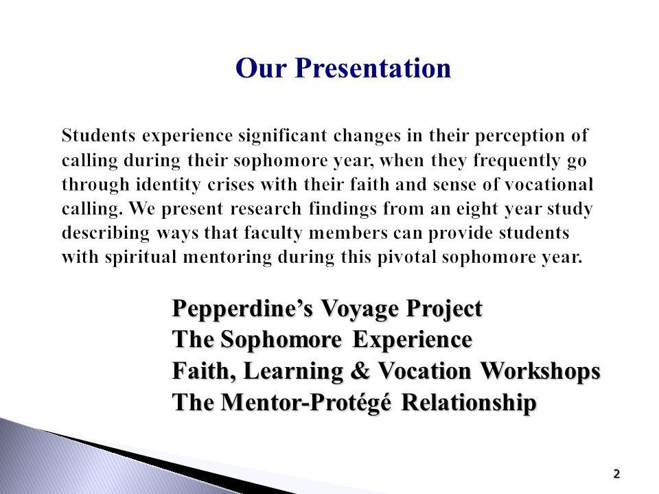 13 The Mentor-Protégé Relationship: The Protégé  What do students need/want.