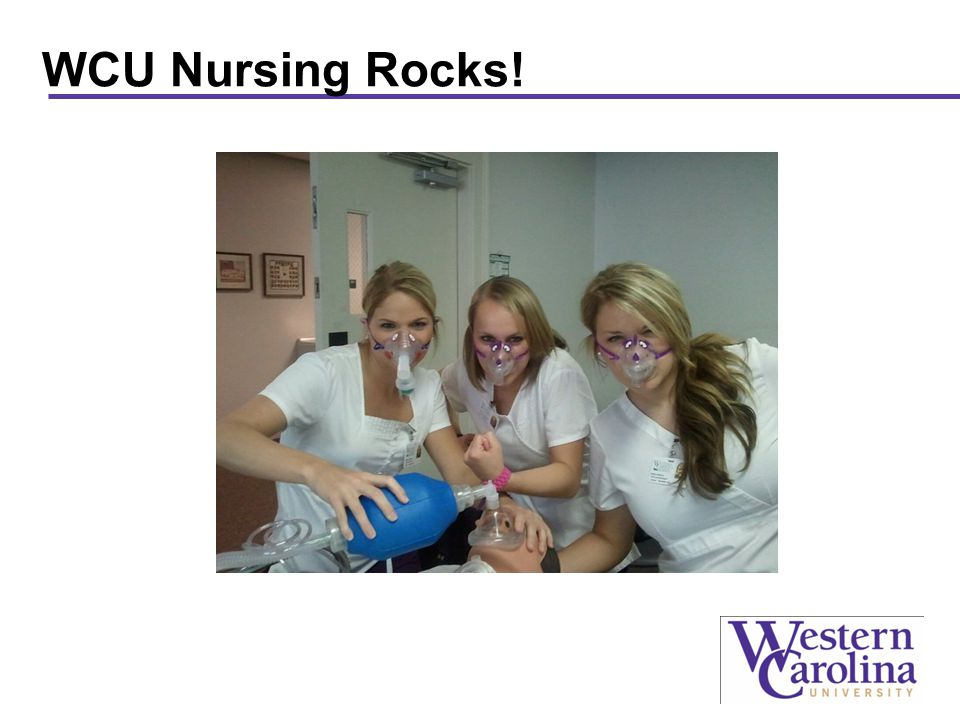 WCU Nursing Rocks!
