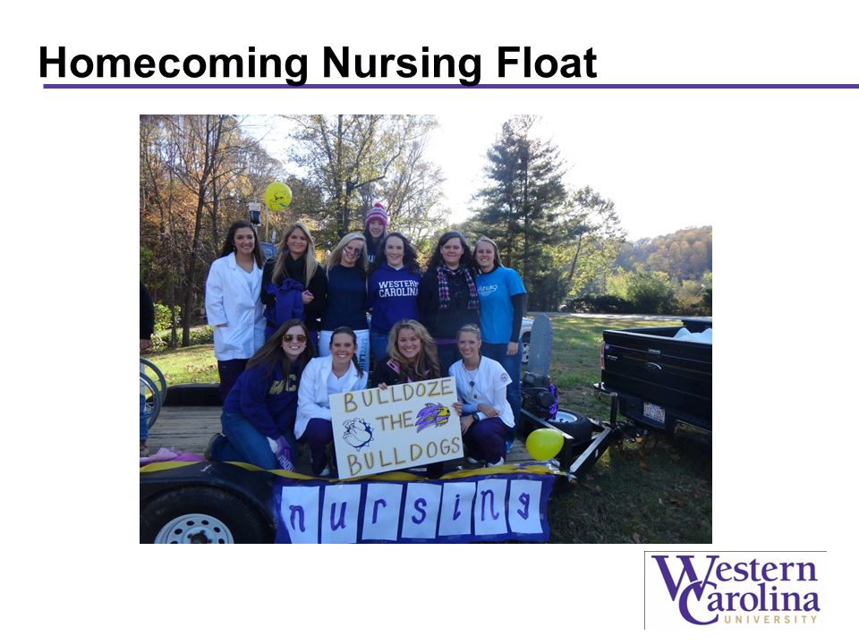 Homecoming Nursing Float