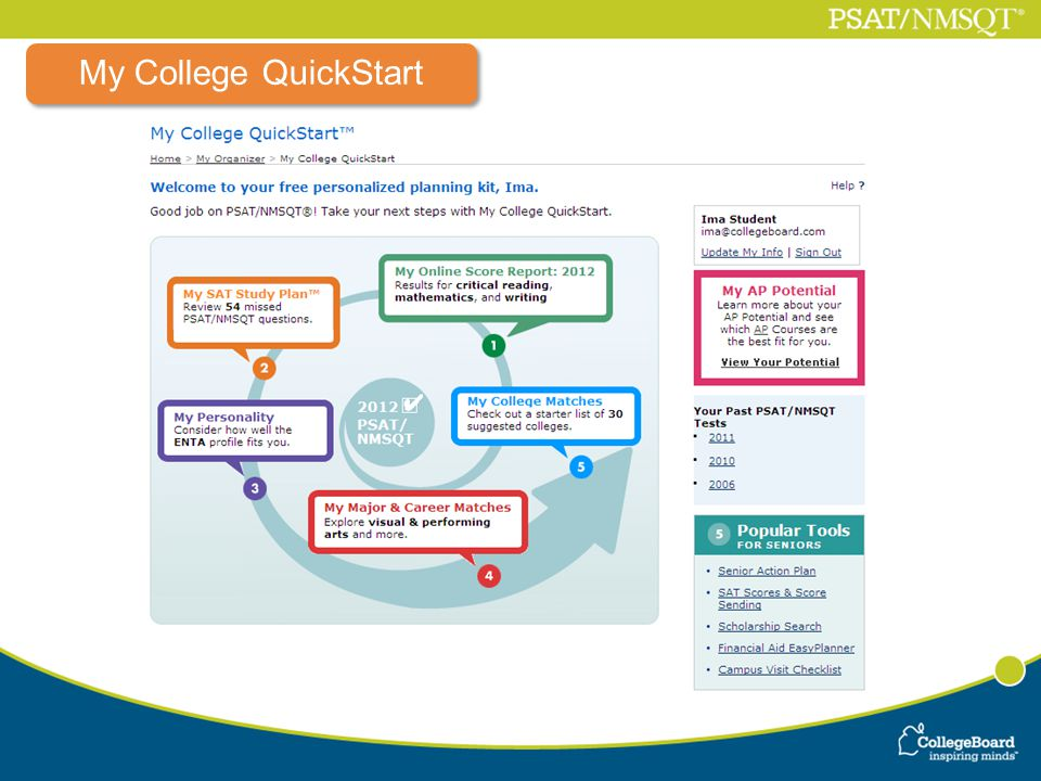 My College QuickStart