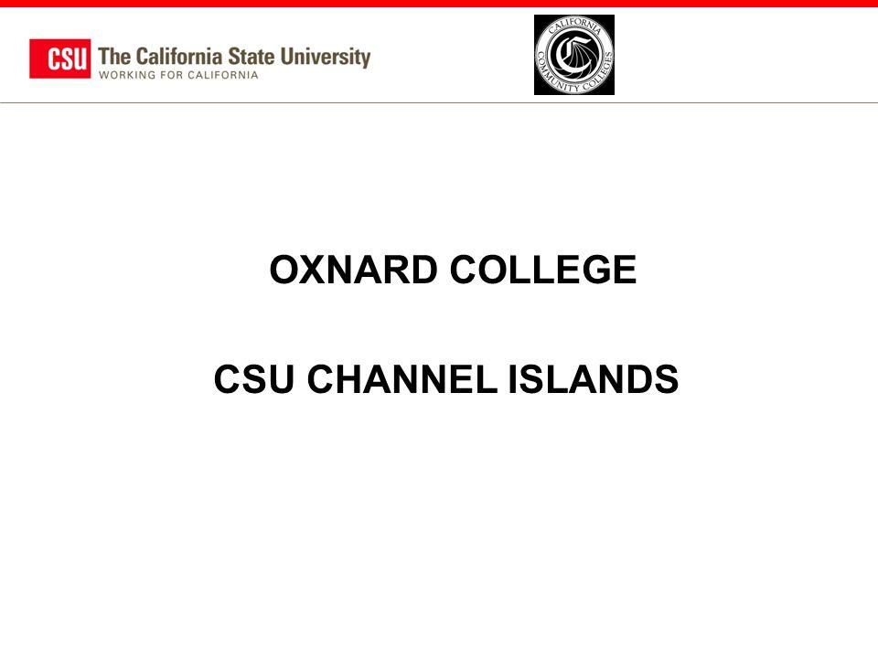 OXNARD COLLEGE CSU CHANNEL ISLANDS