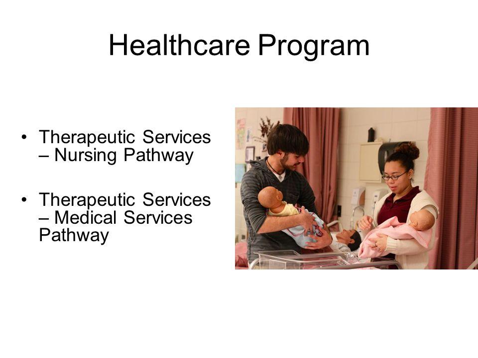 Healthcare Program Therapeutic Services – Nursing Pathway Therapeutic Services – Medical Services Pathway