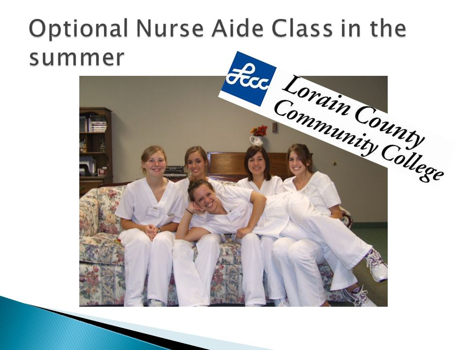  Field trips  Work-based Learning at local Assisted Living facilities  Community Service projects  Nurse/other health careers shadow days  Hospice Volunteer training  Visits from LCCC faculty & health care professionals  Ropes course  HOSA competitions