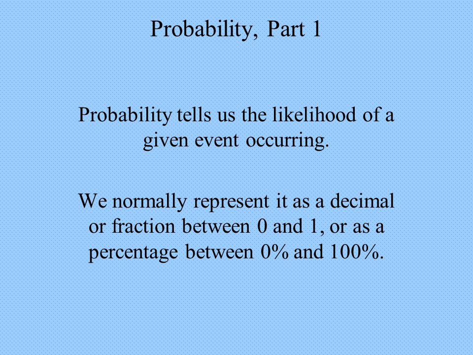 Probability, Part 1 Conditional Probability:Using the Multiplication Principle Example 8: P(Junior and Male) Fr Sr Jr So Label the probabilities for each grade level.