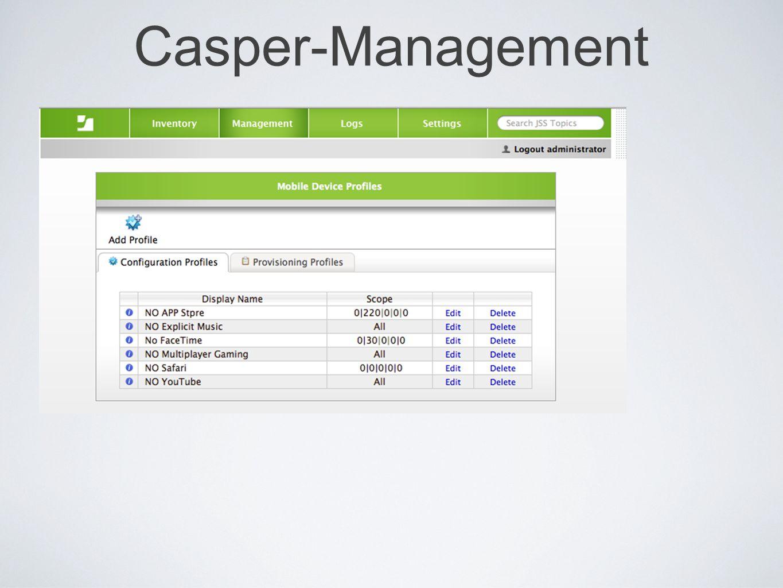 Casper-Management