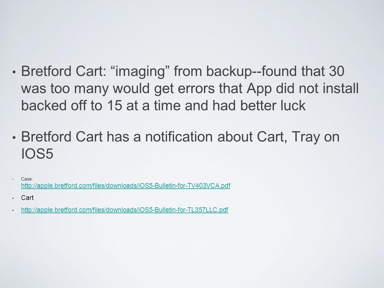 iPad Cart