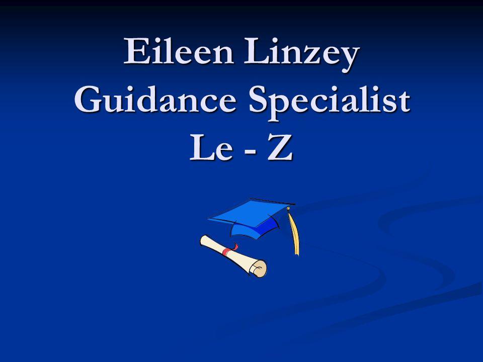 Eileen Linzey Guidance Specialist Le - Z