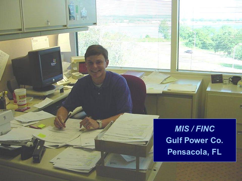 MIS / FINC Gulf Power Co. Pensacola, FL