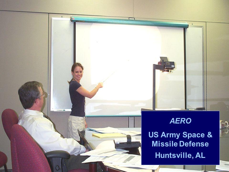 AERO US Army Space & Missile Defense Huntsville, AL