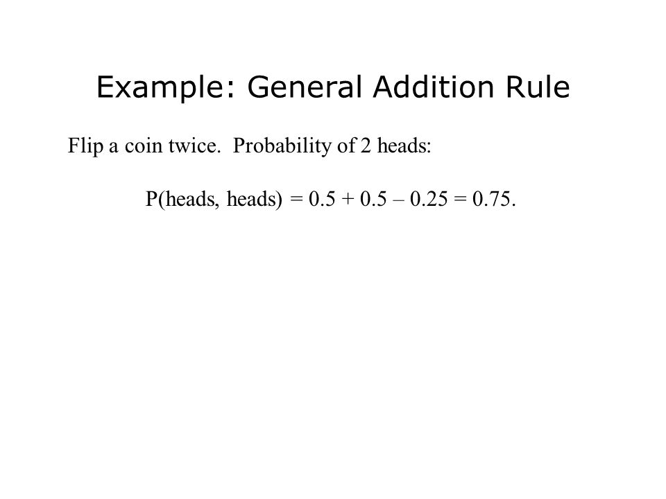 Mutually Exclusive Events If A and B are mutually exclusive (disjoint), then if A occurs, B cannot occur.