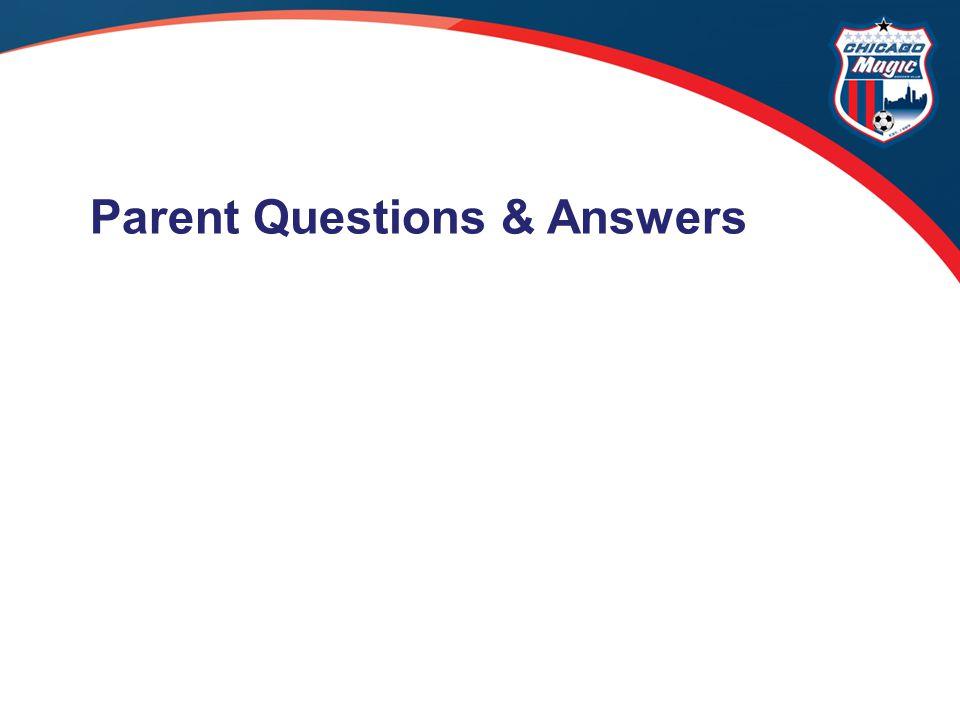 Parent Questions & Answers
