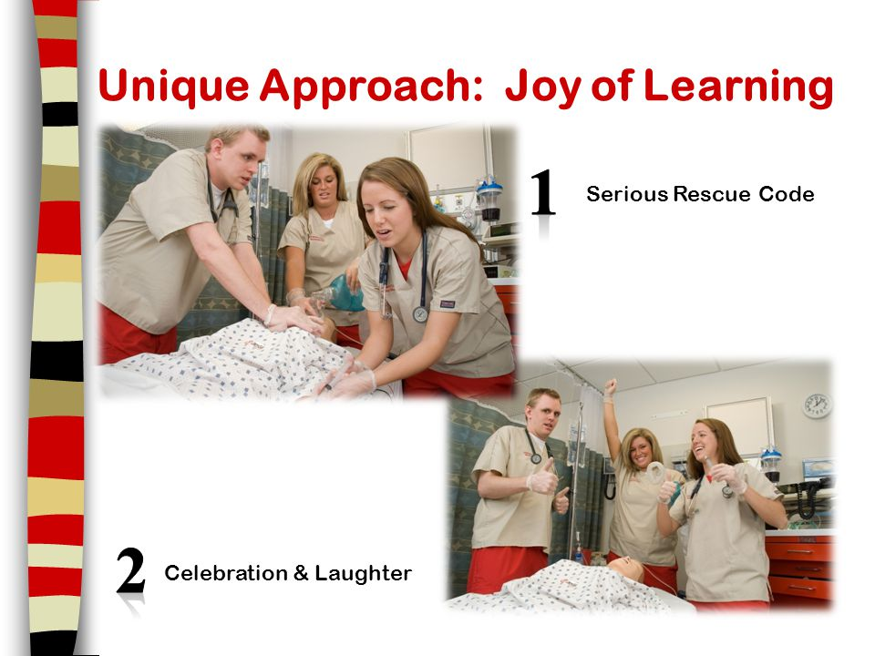 Unique Approach: Joy of Learning Serious Rescue Code Celebration & Laughter