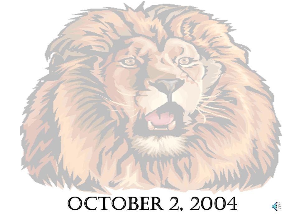 OCTOber 2, 2004