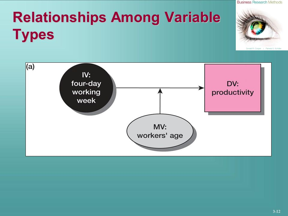 3-12 Relationships Among Variable Types