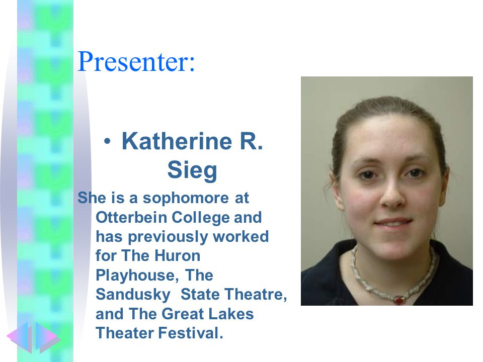 Presenter: Katherine R.