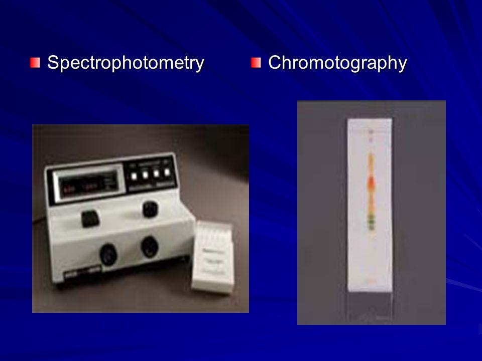 SpectrophotometryChromotography
