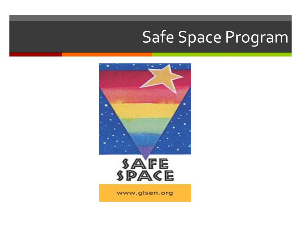 Safe Space Program