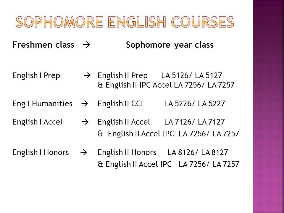 Freshmen class  Sophomore year class  Algebra I Prep  Geometry PrepMA 5136/7  Algebra I Accel  Geometry AccelMA 7146/7  Geometry Accel  Adv.