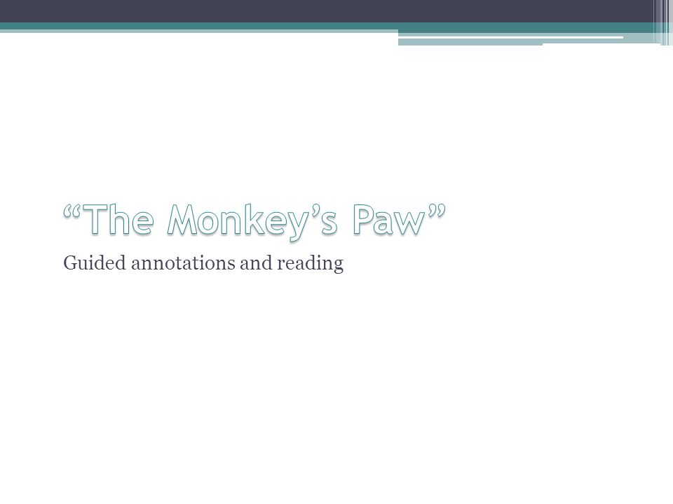 Guided annotations and reading