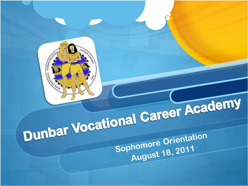 Sophomore Orientation August 18, 2011