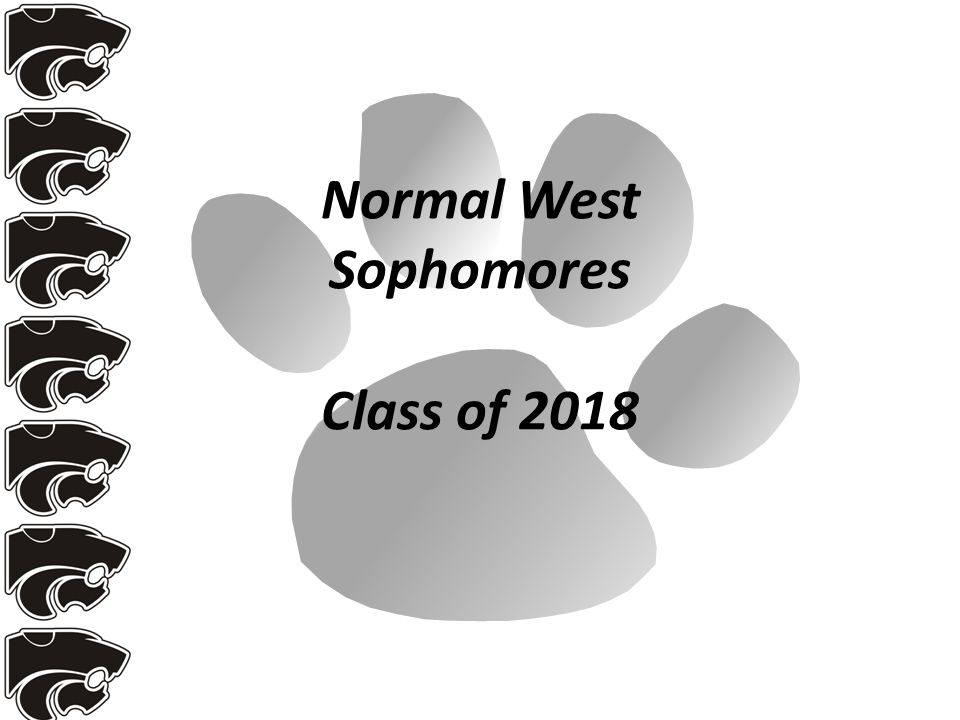 Normal West Sophomores Class of 2018