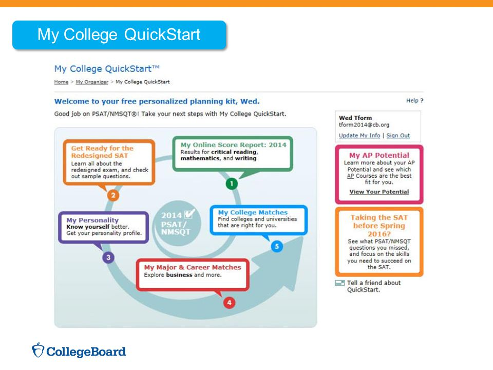My College QuickStart