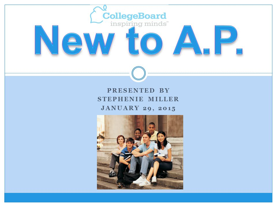 AP stands for Advanced Placement.AP stands for Advanced Placement.