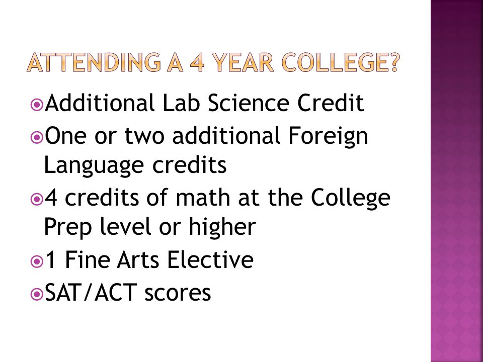  Students must also meet state attendance guidelines to receive credit for a course.