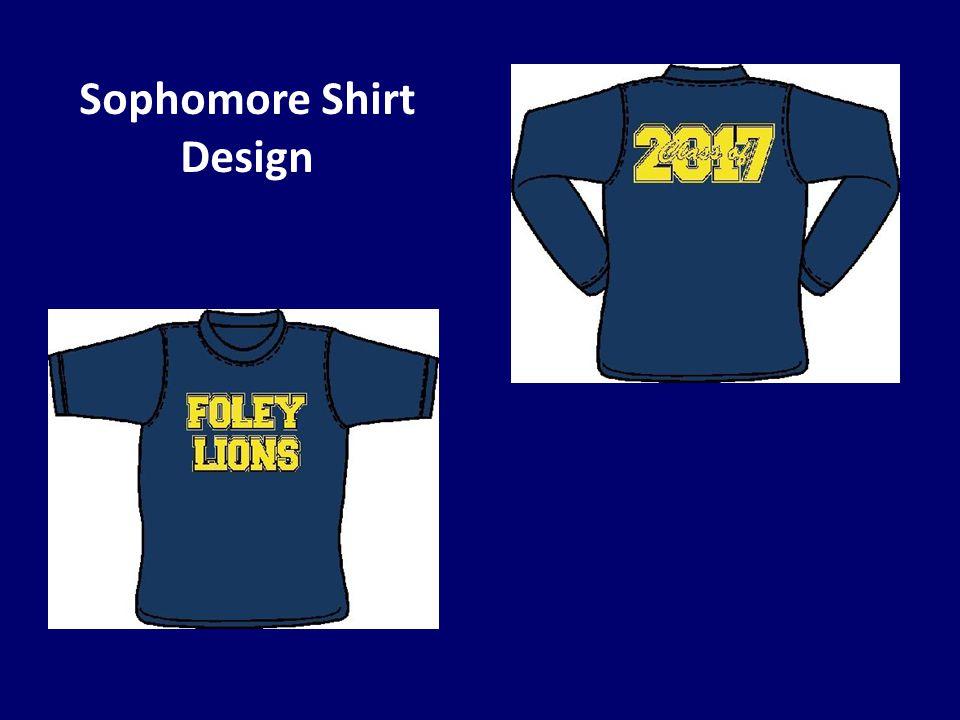 Sophomore Shirt Design