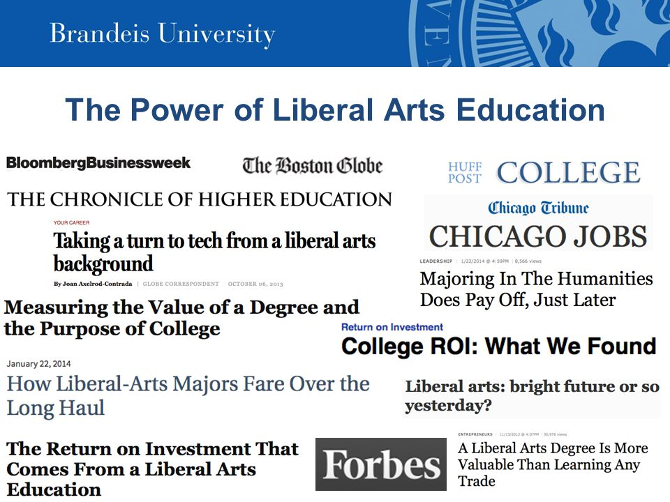 The Power of Liberal Arts Education