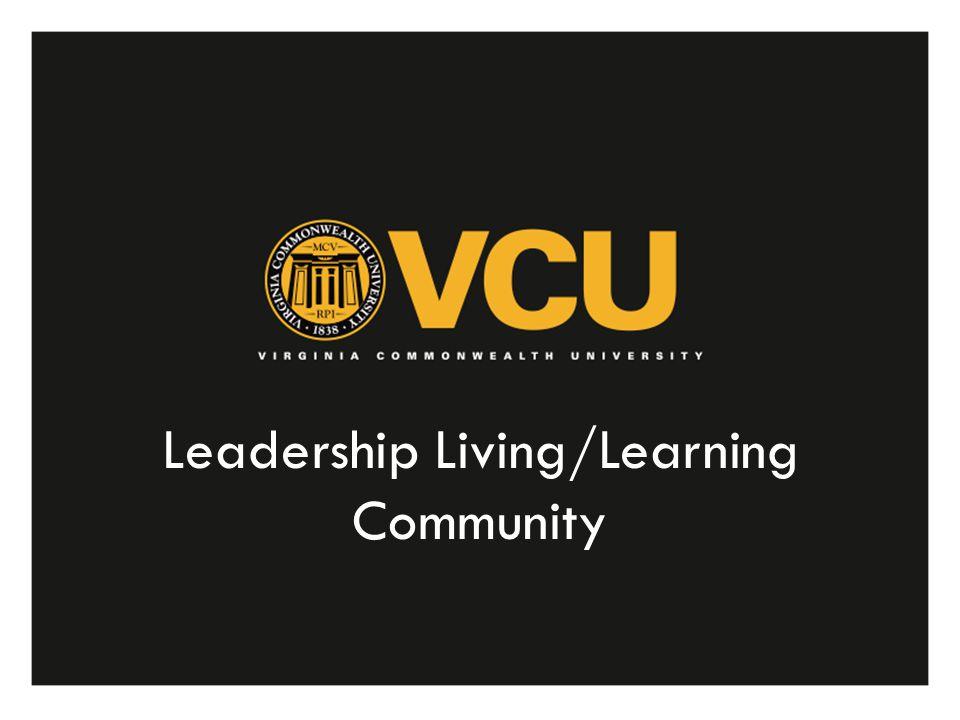 Leadership Living/Learning Community