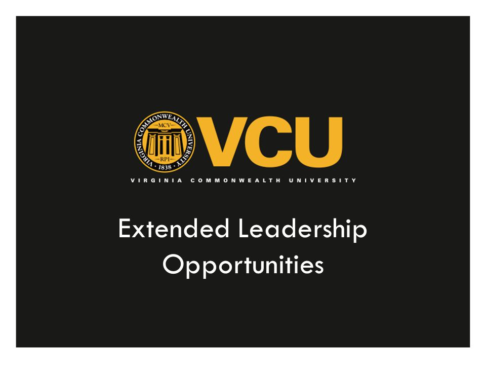 Extended Leadership Opportunities