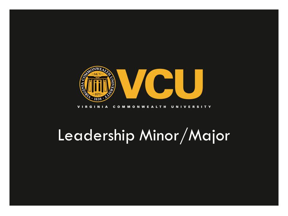 Leadership Minor/Major