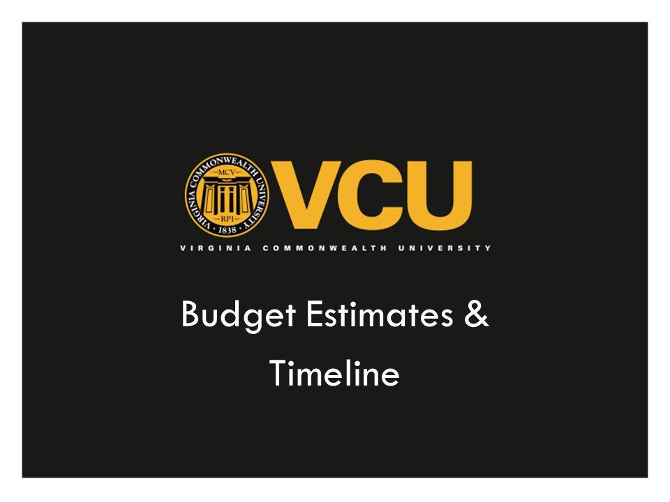 Budget Estimates & Timeline